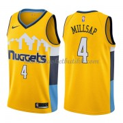 Denver Nuggets NBA Basketball Drakter 2018 Paul Millsap 4# Statement Edition..