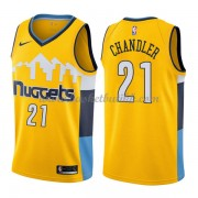 Denver Nuggets NBA Basketball Drakter 2018 Wilson Chandler 21# Statement Edition..