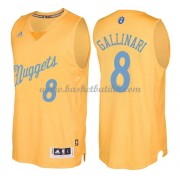 Denver Nuggets Basketball Drakter 2016 Danilo Gallinari 8# NBA Julen Drakt..
