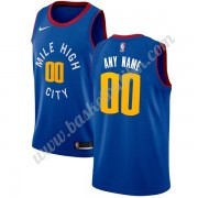 Denver Nuggets NBA Basketball Drakter 2019-20 Blå Statement Edition Swingman Drakt..