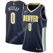 Denver Nuggets NBA Basketball Drakter 2019-20 Emmanuel Mudiay 0# Icon Edition Swingman Drakt..