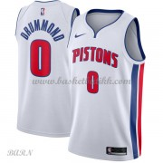 Barn Basketball Drakter Detroit Pistons 2018 Andre Drummond 0# Association Edition Swingman..