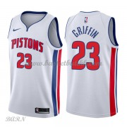 Barn Basketball Drakter Detroit Pistons 2018 Blake Griffin 23# Association Edition Swingman..