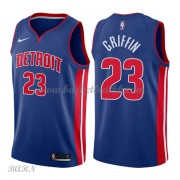 Barn Basketball Drakter Detroit Pistons 2018 Blake Griffin 23# Icon Edition Swingman..