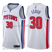 Barn Basketball Drakter Detroit Pistons 2018 Jon Leuer 30# Association Edition Swingman..