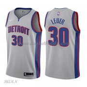 Barn Basketball Drakter Detroit Pistons 2018 Jon Leuer 30# Statement Edition Swingman..