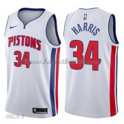 Barn Basketball Drakter Detroit Pistons 2018 Tobias Harris 34# Association Edition Swingman..