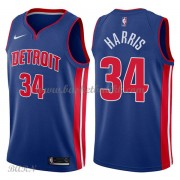 Barn Basketball Drakter Detroit Pistons 2018 Tobias Harris 34# Icon Edition Swingman..