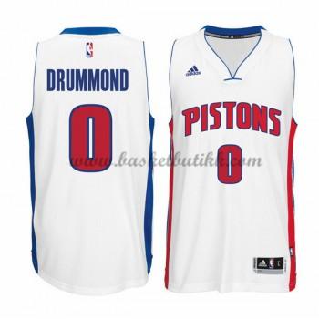 Detroit Pistons NBA Basketball Drakter 2015-16 Andre Drummond 0# Hjemme Drakt