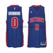 Detroit Pistons NBA Basketball Drakter 2015-16 Andre Drummond 0# Road Drakt..