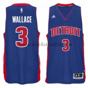 Detroit Pistons NBA Basketball Drakter 2015-16 Ben Wallace 3# Road Drakt..