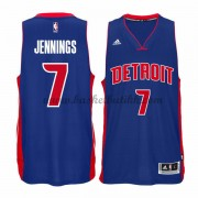 Detroit Pistons NBA Basketball Drakter 2015-16 Brandon Jennings 7# Road Drakt..