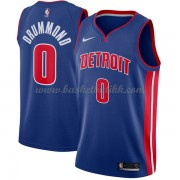 Detroit Pistons NBA Basketball Drakter 2018 Andre Drummond 0# Icon Edition..