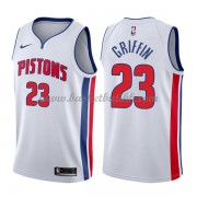 Detroit Pistons NBA Basketball Drakter 2018 Blake Griffin 23# Association Edition..