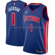Detroit Pistons NBA Basketball Drakter 2018 Reggie Jackson 1# Icon Edition..
