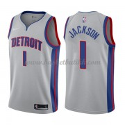 Detroit Pistons NBA Basketball Drakter 2018 Reggie Jackson 1# Statement Edition..