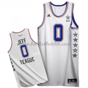 East All Star Game 2015 Jeff Teague 0# NBA Basketball Drakter..
