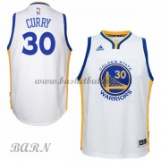 Barn Basketball Drakter Golden State Warriors 2015-16 Stephen Curry 30# Hjemme
