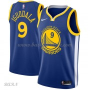 Barn Basketball Drakter Golden State Warriors 2018 Andre Iguodala 9# Icon Edition Swingman..