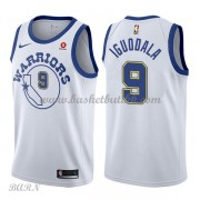 Barn Basketball Drakter Golden State Warriors 2018 Andre Iguodala 9# Hvit Hardwood Classics Swingman..