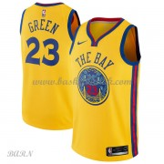 Barn Basketball Drakter Golden State Warriors 2018 Draymond Green 23# City Edition Swingman..