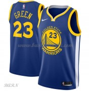 Barn Basketball Drakter Golden State Warriors 2018 Draymond Green 23# Icon Edition Swingman..