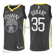 Barn Basketball Drakter Golden State Warriors 2018 Kevin Durant 35# Statement Edition Swingman..