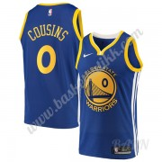 Barn Basketball Drakter Golden State Warriors 2019-20 DeMarcus Cousins 15# Blå Icon Edition Swingman..