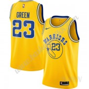 Barn Basketball Drakter Golden State Warriors 2019-20 Draymond Green 23# Gull Hardwood Classics Swin..