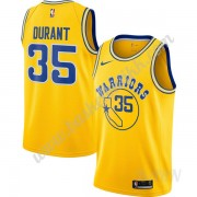 Barn Basketball Drakter Golden State Warriors 2019-20 Kevin Durant 35# Gull Hardwood Classics Swingm..