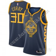 Barn Basketball Drakter Golden State Warriors 2019-20 Stephen Curry 30# Marinen City Edition Swingma..
