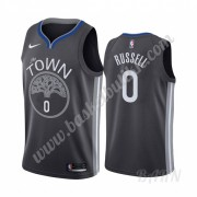 Barn Basketball Drakter Golden State Warriors 2019-20 D'Angelo Russell 0# City Edition Swingman Drak..