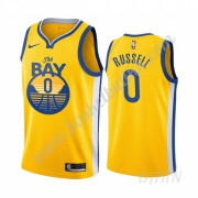 Barn Basketball Drakter Golden State Warriors 2019-20 D'Angelo Russell 0# Statement Edition Swingman..