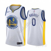 Barn Basketball Drakter Golden State Warriors 2019-20 D'Angelo Russell 0# Hvit Association Edition S..