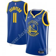 Barn Basketball Drakter Golden State Warriors 2019-20 Klay Thompson 11# Blå Icon Edition Swingman Dr..