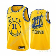 Barn Basketball Drakter Golden State Warriors 2019-20 Klay Thompson 11# Gul Classics Edition Swingma..