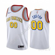 Barn Basketball Drakter Golden State Warriors 2019-20 Hvit Classics Edition Swingman Drakt..