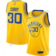 Barn Basketball Drakter Golden State Warriors 2019-20 Stephen Curry 30# Gull Hardwood Classics Swing..