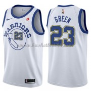 Golden State Warriors NBA Basketball Drakter 2018 Draymond Green 23# Hvit Hardwood Classics..