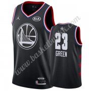 Golden State Warriors 2019 Draymond Green 23# Svart All Star Game NBA Basketball Drakter Swingman..