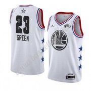 Golden State Warriors 2019 Draymond Green 23# Hvit All Star Game NBA Basketball Drakter Swingman..