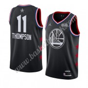 Golden State Warriors 2019 Klay Thompson 11# Svart All Star Game NBA Basketball Drakter Swingman..