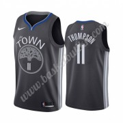 Golden State Warriors NBA Basketball Drakter 2019-20 Klay Thompson 11# Svart City Edition Swingman D..