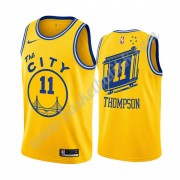 Golden State Warriors NBA Basketball Drakter 2019-20 Klay Thompson 11# Gul Classics Edition Swingman..