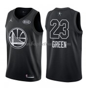 Golden State Warriors Draymond Green 23# Black 2018 All Star Game NBA Basketball Drakter..