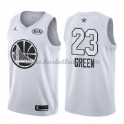 Golden State Warriors Draymond Green 23# Hvit 2018 All Star Game NBA Basketball Drakter..