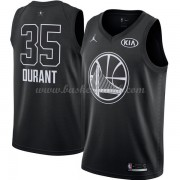 Golden State Warriors Kevin Durant 35# Black 2018 All Star Game NBA Basketball Drakter..