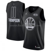 Golden State Warriors Klay Thompson 11# Black 2018 All Star Game NBA Basketball Drakter..