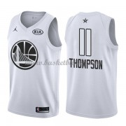 Golden State Warriors Klay Thompson 11# Hvit 2018 All Star Game NBA Basketball Drakter..