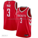 Barn Basketball Drakter Houston Rockets 2018 Chris Paul 3# Icon Edition Swingman